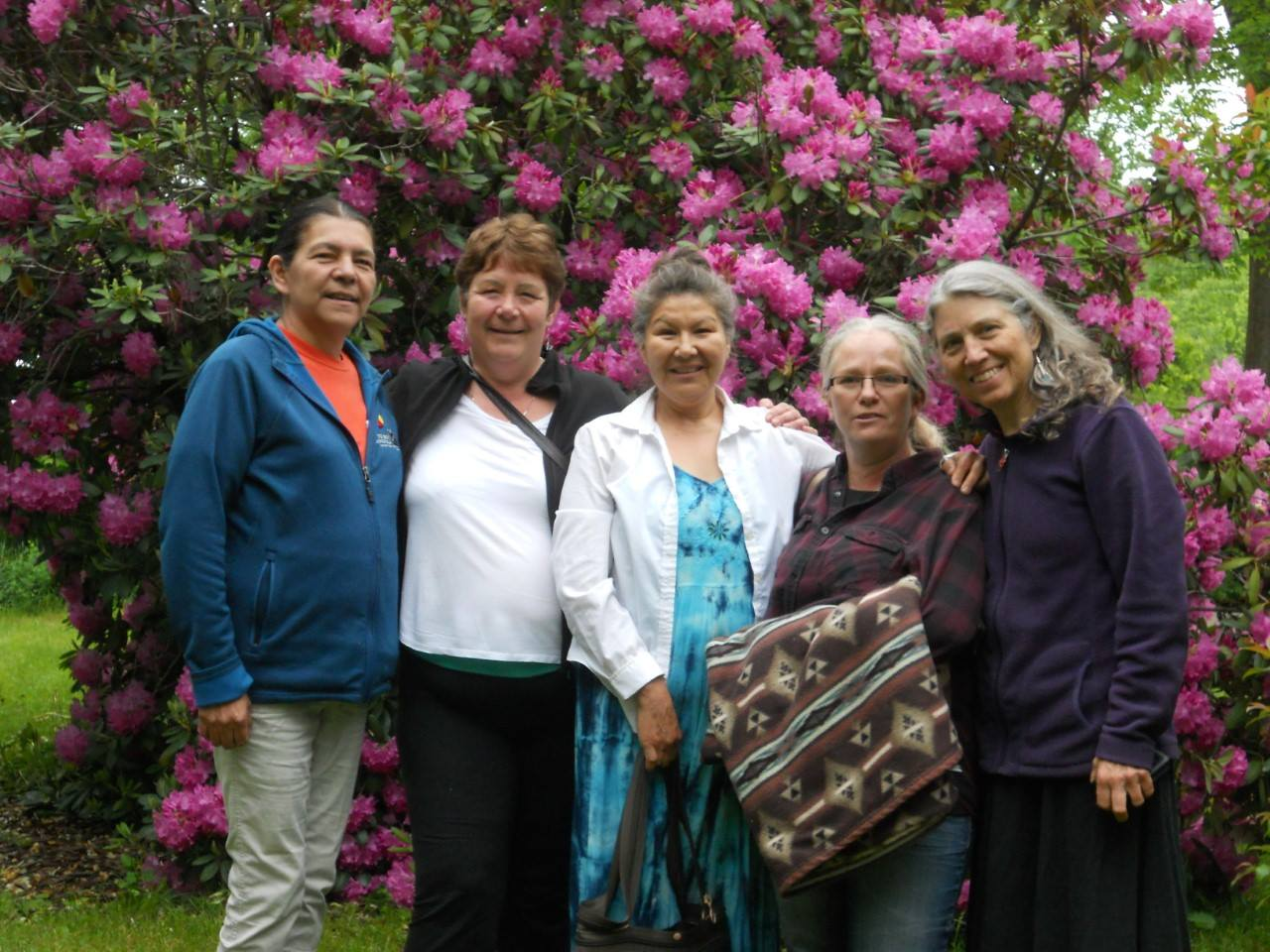 Women at Retreat